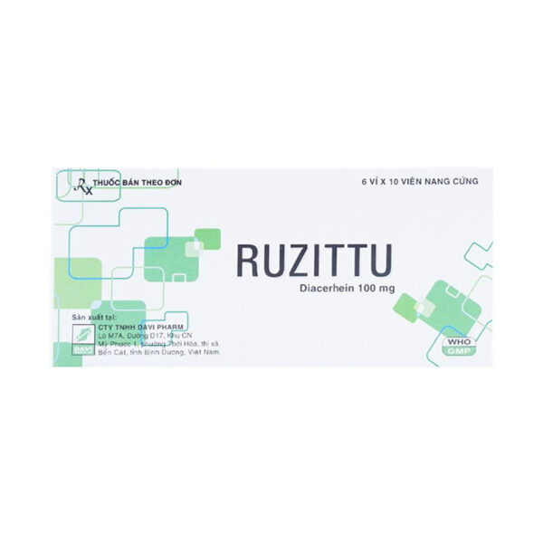 Ruzittu Hộp 60 Viên - Điều Trị Viêm Xương Khớp