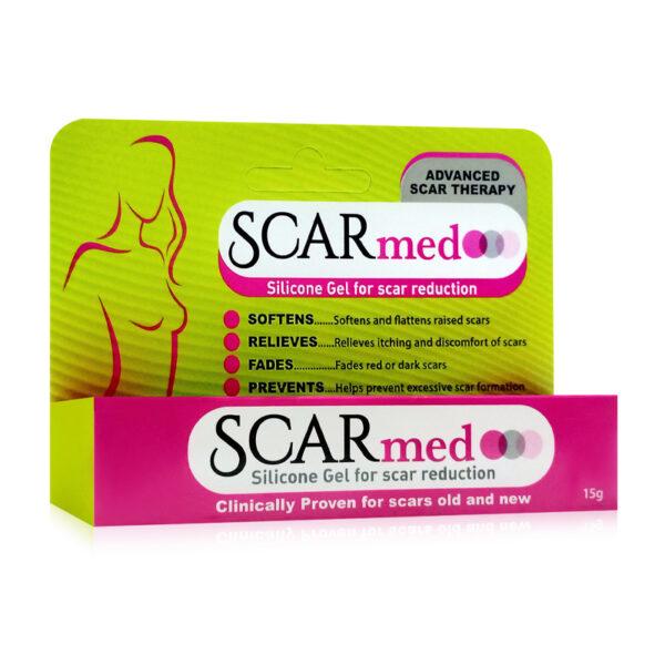 SCARmed Tuýp 15g - Làm Mềm Và Phẳng Các Vết Sẹo
