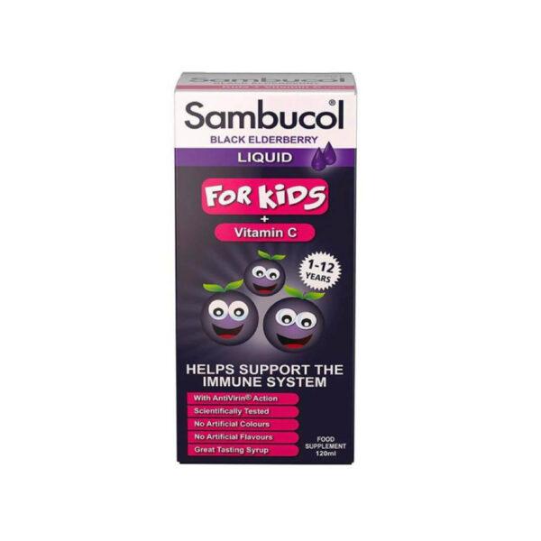 Siro Sambucol For Kid - Lọ 120ml - Tăng Cường Hệ Miễn Dịch