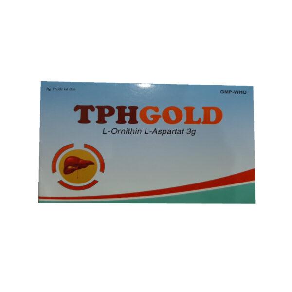 Thuốc TPHgold - Hộp 20 Gói - Trị Tăng Aminiac Máu Do Gan