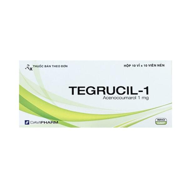 Tegrucil-1 Hộp 100 Viên - Điều Trị Và Dự Phòng Huyết Khối