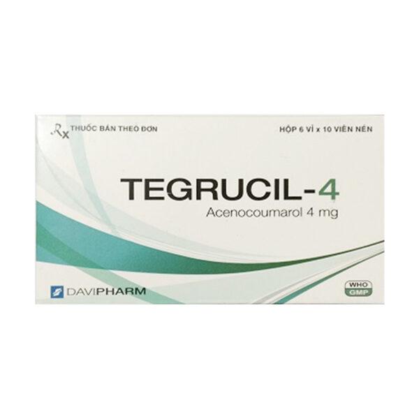 Tegrucil-4 Hộp 60 Viên - Điều Trị Và Dự Phòng Huyết Khối