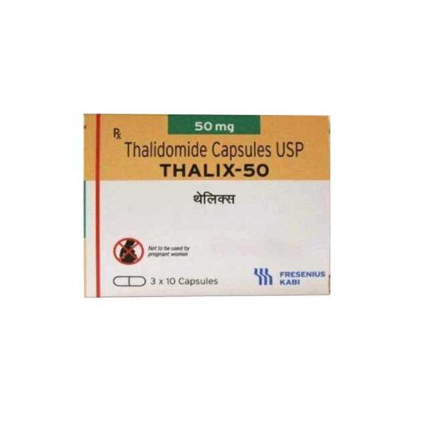 Thuốc Thalix 50 - Hộp 30 Viên - Điều Trị Bệnh Hồng Cầu