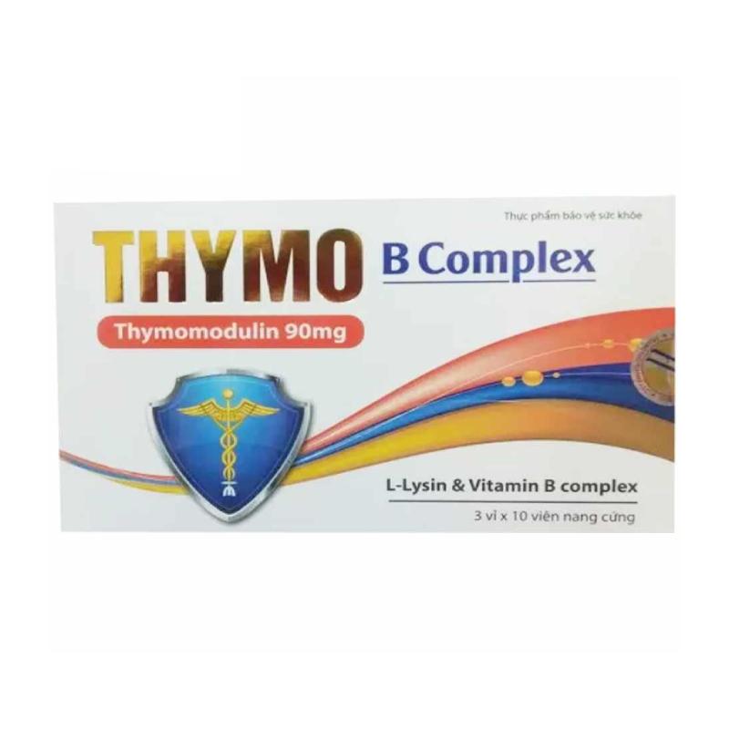 Thymo B Complex Hộp 30 Viên