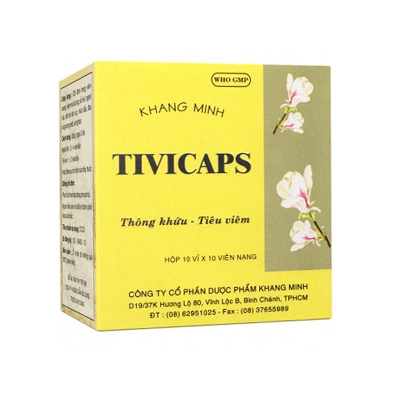 Tivicaps Hộp 100 Viên