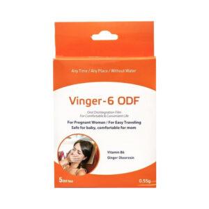 Vinger – 6 ODF Hộp 5 Miếng - Giảm Ốm Nghén Thai Kì