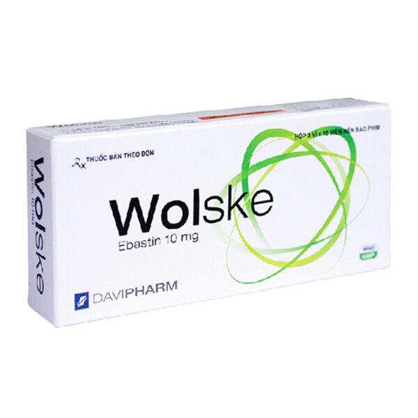 Wolske Hộp 30 Viên - Thuốc Điều Trị Dị Ứng