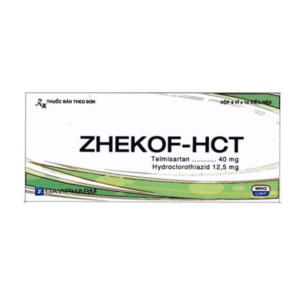 Zhekof-HCT Hộp 60 Viên - Điều Trị Huyết Áp Cao