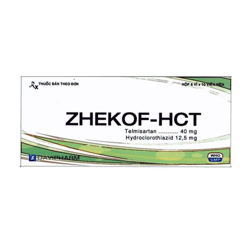 Zhekof-HCT Hộp 60 Viên