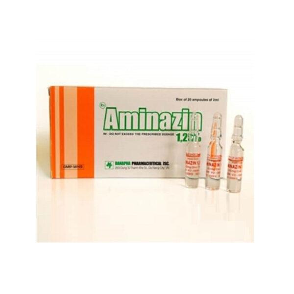 Thuốc Aminazin 1.25% - Hôp 20 Ống - Trị Chứng Loạn Tâm Thần