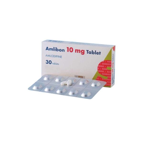 Thuốc Amlibon 10mg - Hộp 30 Viên - Điều Trị Tăng Huyết Áp