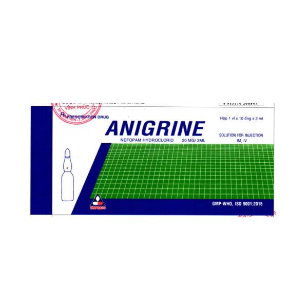 Thuốc Anigrine 20mg/2ml - Hộp 10 Ống - Trị Đau Cơ Xương