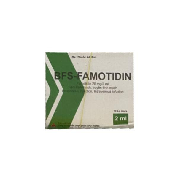 Thuốc Bfs-Famotidin - Hộp 10 Lọ - Điều Trị Bệnh Dạ Dày