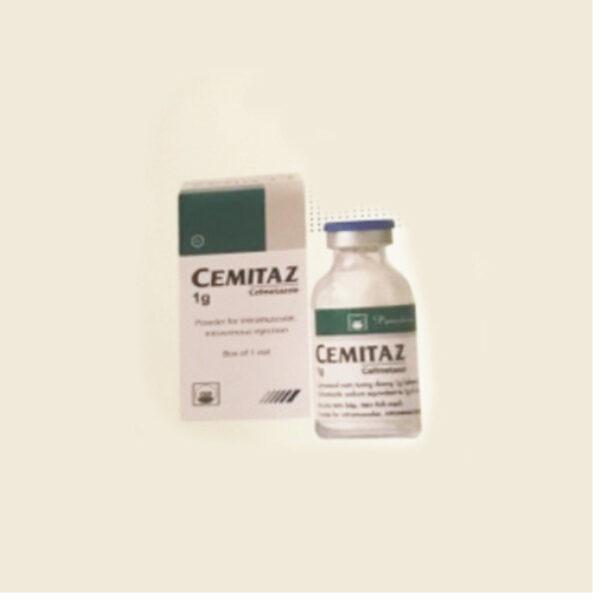 Thuốc Cemitaz 1g - Hộp 1 Lọ - Thuốc Kháng Sinh