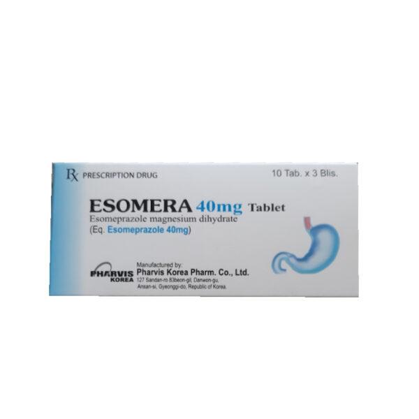 Esomera 40mg Tablet - Hộp 30 Viên - Trị Bệnh GERD Hiệu Quả