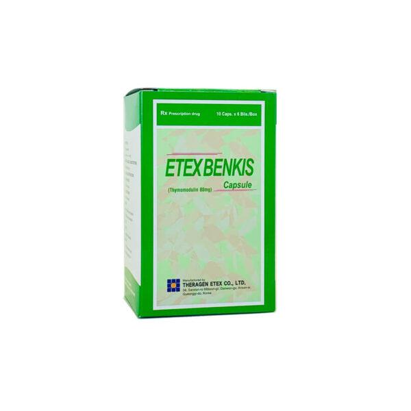 Thuốc Etexbenkis - Hộp 60 Viên - Hỗ Trợ Điều Trị Giảm Bạch Cầu