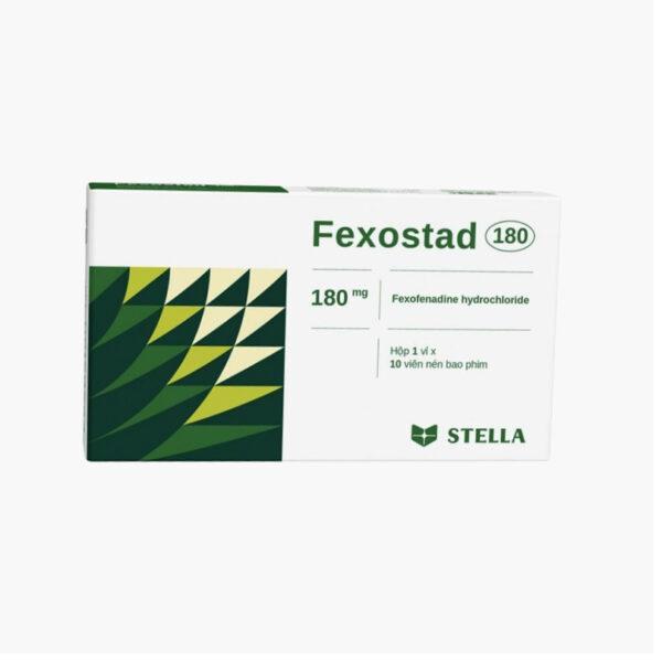 Thuốc Fexostad 180 - Hộp 10 Viên - Điều Trị Nổi Mề Đay