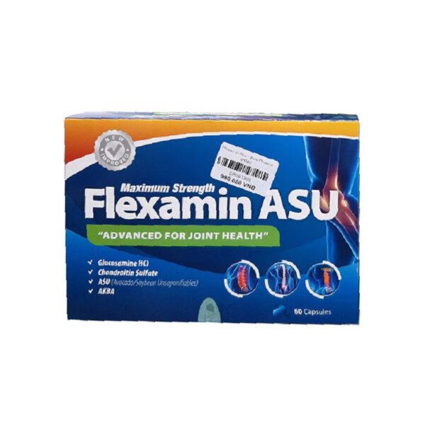 Flexamin Asu - Hộp 60 Viên - Nuôi Dưỡng Mô Sụn Khớp