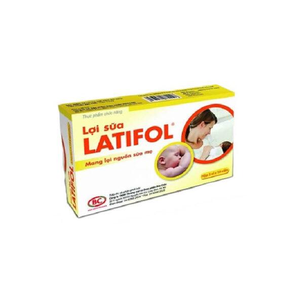 Lợi Sữa Latifol - Hộp 30 Viên - Vóc Dáng Thon Gọn Sau Sinh