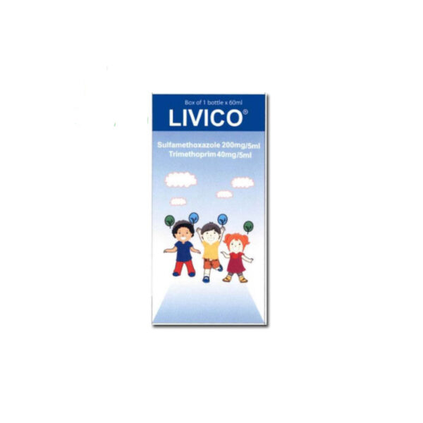 Thuốc Livico - Chai 60ml - Trị Nhiễm Khuẩn Hiệu Quả