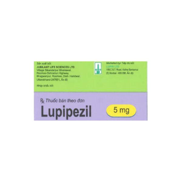 Thuốc Lupipezil 5mg - Hộp 30 Viên - Điều Trị Trong Bệnh Alzheimer.