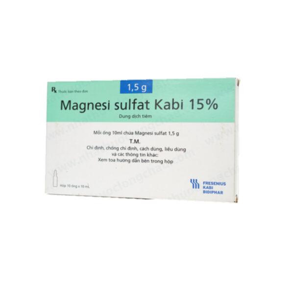Dung Dịch Tiêm Magnesi Sulfat Kabi 15% - Điều Trị Giảm Kali Máu