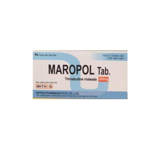 Thuốc Maropol - Hôp 100 Viên - Điều Trị Hội Chứng Ruột Kích Thích