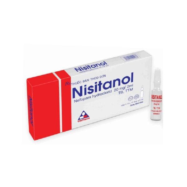 Thuốc Nisitanol 20mg/2ml - Hộp 10 Ống - Điều Trị Đau Hậu Phẫu