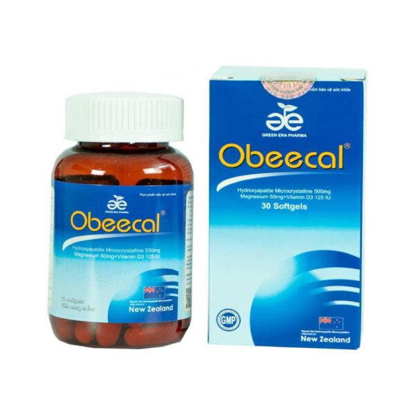 Obeecal - Hộp 30 Viên - Hỗ Trợ Phát Triển Chiều Cao