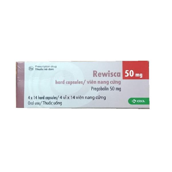 Thuốc Rewisca 50mg - Hộp 28 Viên - Trị Rối Loạn Lo Âu