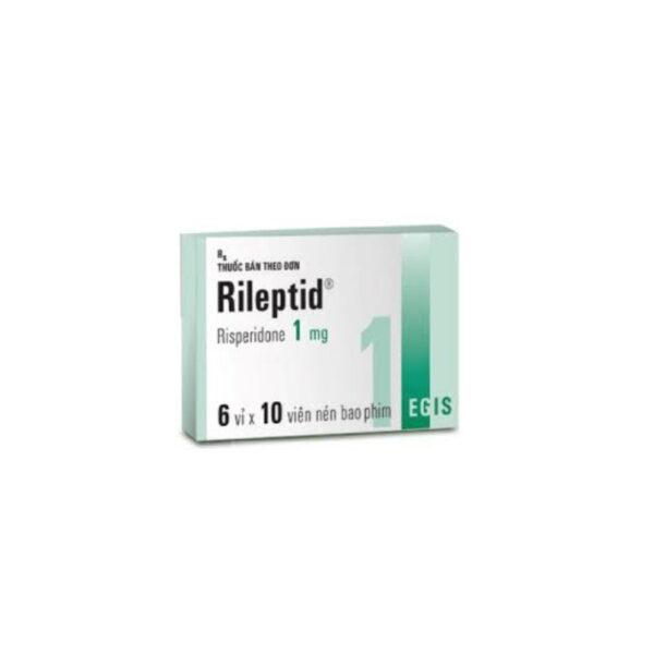 Thuốc Rileptid 1mg - Hộp 60 Viên - Điều Trị Tự Kỉ