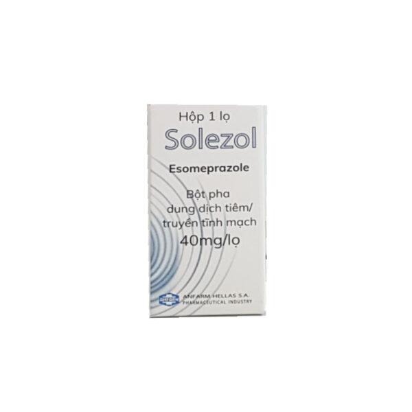 Thuốc Solezol - Hộp 1 Lọ - Điều Trị Viêm Loét Dạ Dày