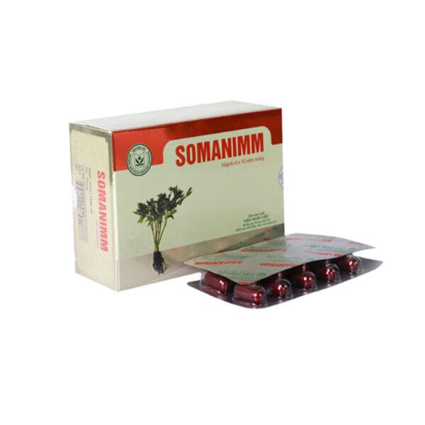 Thuốc Somanimm - Hộp 60 Viên - Tăng Cường Sức Đề Kháng