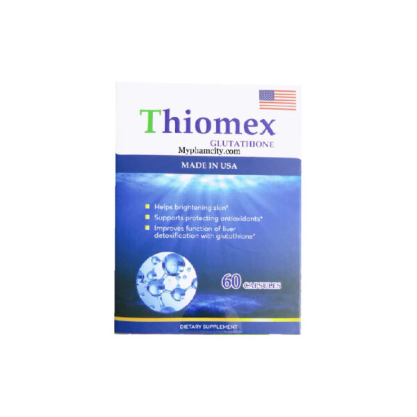 Thiomex Glutathione - Hộp 60 Viên - Đẹp Da, Tăng Khả Năng Thụ Thai