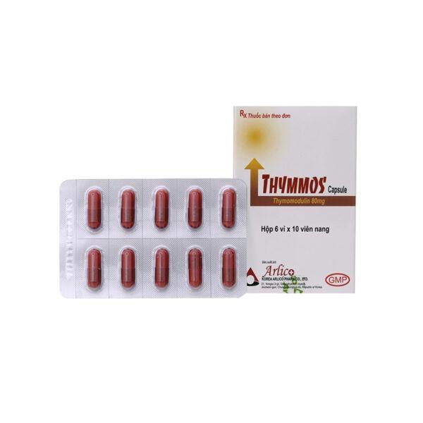 Thuốc Thymmos Capsule - Hộp 60 Viên - Trị Viêm Mũi Dị Ứng